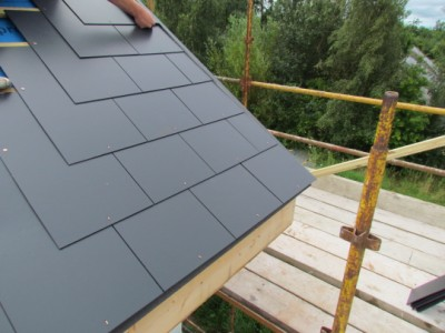 Fibre Roofing Slates Amp Thrutone Fibre Cement Roof Slate